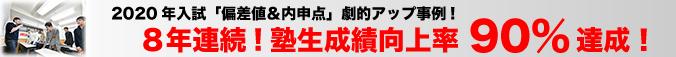 横浜の学習塾ブレストの2020年入試「偏差値&内申点」劇的アップ事例!